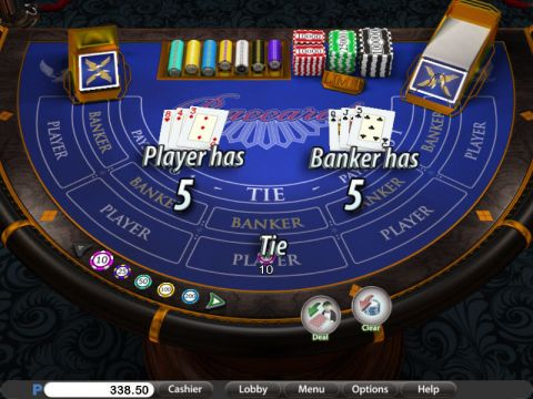 Western Baccarat Elite Edition made by Saucify with 6 Decks